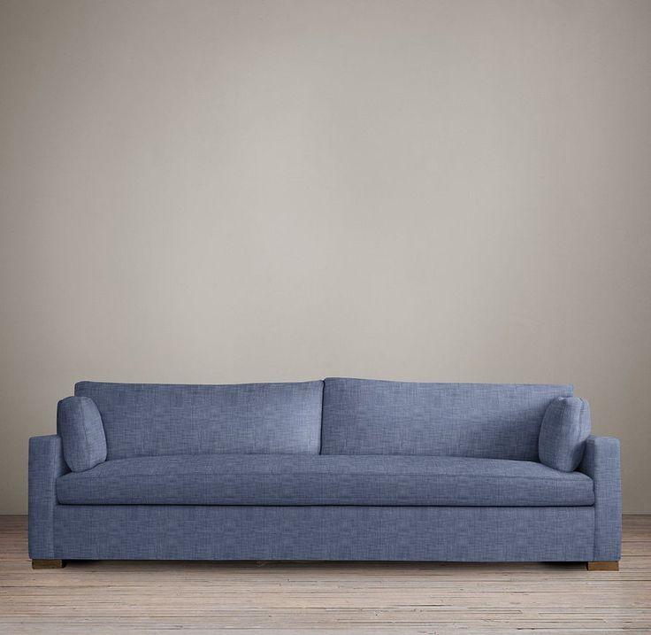 Belgian Track Arm Upholstered Sleeper Sofa