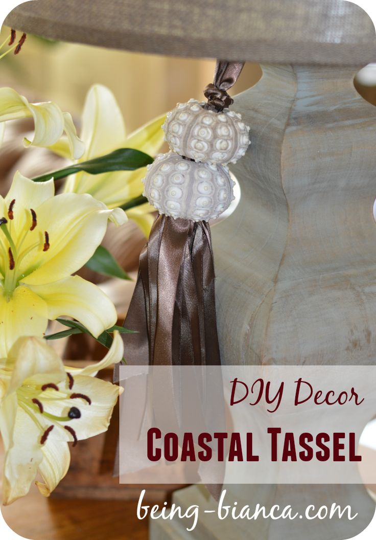Easy diy home decor with a coastal vibe this easy to Diy home decor with shells