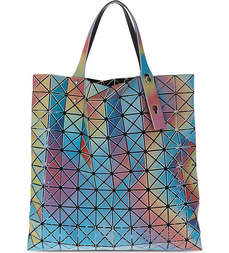 BAO BAO ISSEY MIYAKE Prism Aurora tote, the perfect tote bag for out and about.