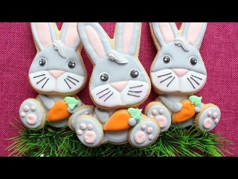 376 best montreal confections youtube video tutorials images on easter cookies easter bunny cookies in royal icing by montreal confections negle Image collections