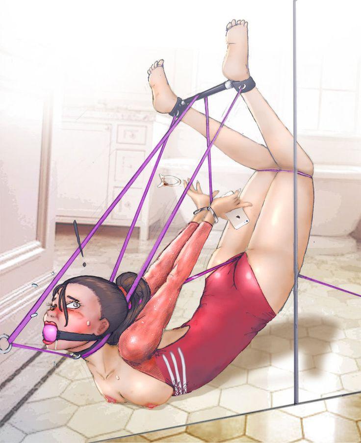 Self vibrator bondage story