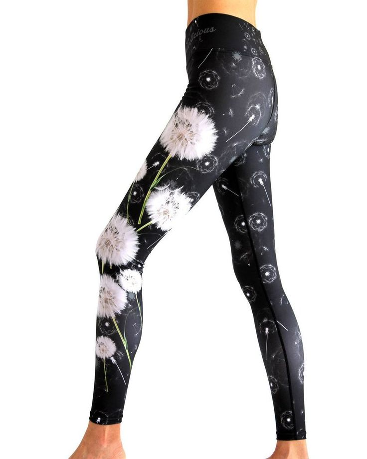 Tech Tights - Performance Leggings - Dandelion Sky
