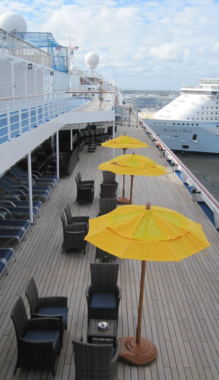 Smoking area on the Carnival Conquest: http://cigarczars.com/cigars-carnival-conquest.htm