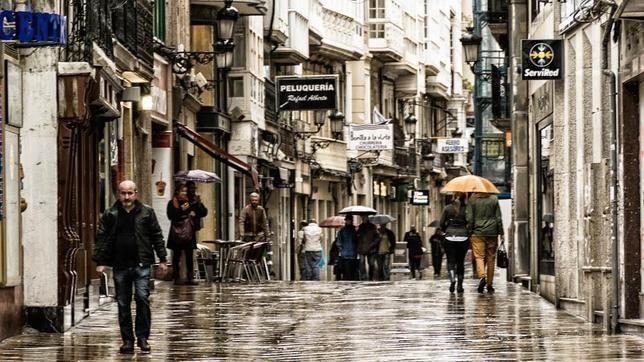 Las mejores calles de España para ir de compras: entre ellas, la calle Real de A Coruña.