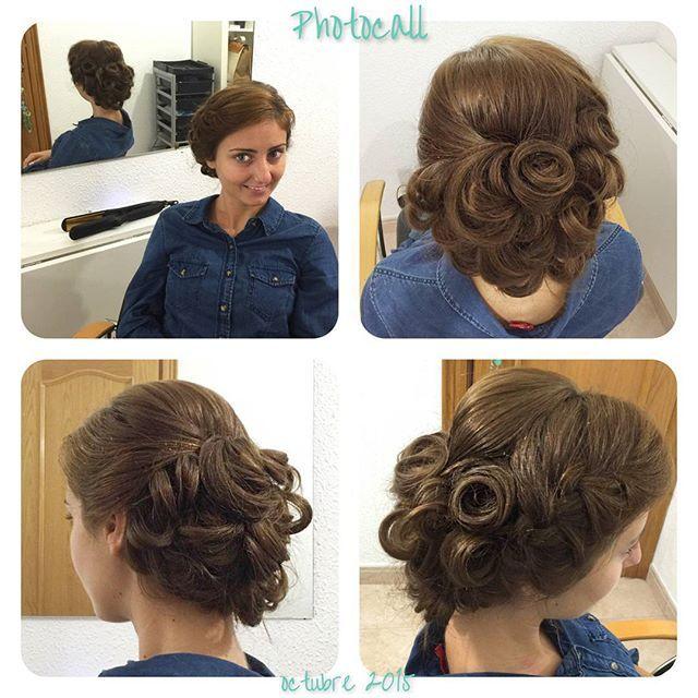 Recogido de novia hecho por Ralu del salón de Castelldefels.  #blue01stylist #photocall #style #hair #pelo #coolhair #looks #instahair #hairstyle #instadaily #instagood #peluquerias #cabello #peluqueriabarcelona #hairoftheday #hairfashion #hairofinstagram