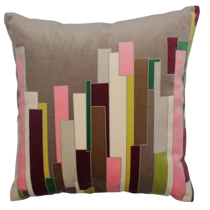 Kenzo House Cushion Neon 40x40 cm