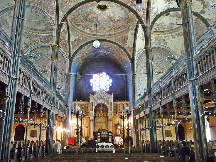 Miskolc synagogue interior