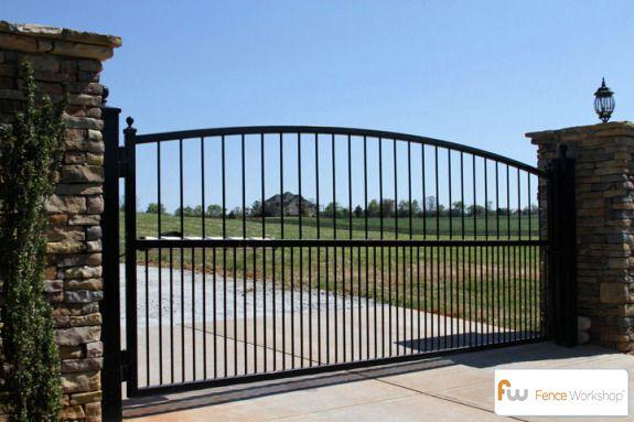 metal driveway gate designs - Google Search