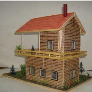 Kartondan Maket Ev Yapımı tumblr