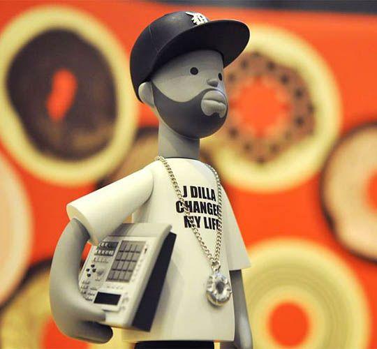 J DILLA – Vinyl Toy  The Hype BR
