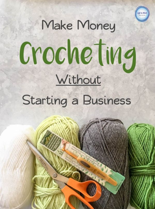 Make money crocheting without starting your own business! Teaching others to crochet is a great extra income. In this post I share how to consider your money making options and how to get started teaching.