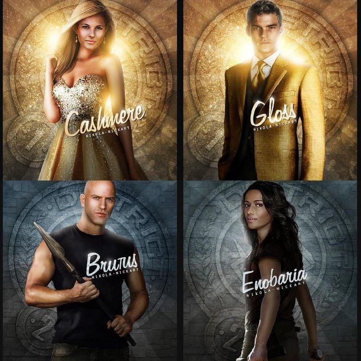 Enobaria Hunger Games 10 best Enobaria and B...