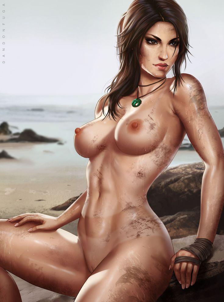 Karen lancaume lara croft nude raider 03 - 2 9