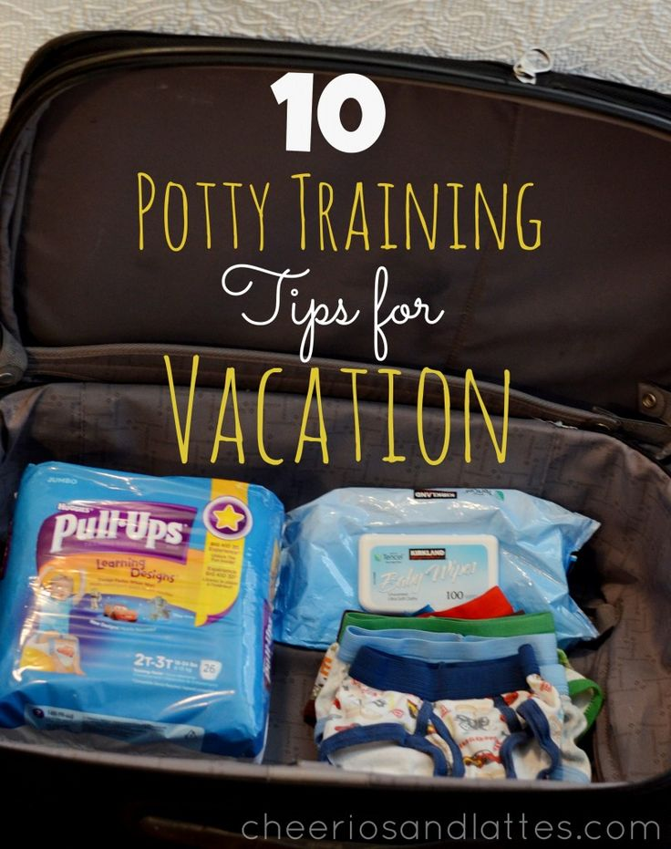 10 Potty Training Tips for Vacation