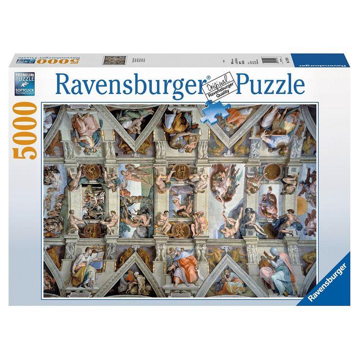 Ravensburger Sistine Chapel Puzzle - 5000 Pieces