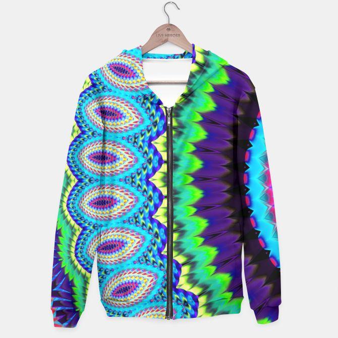 Colorful mandala hoodie