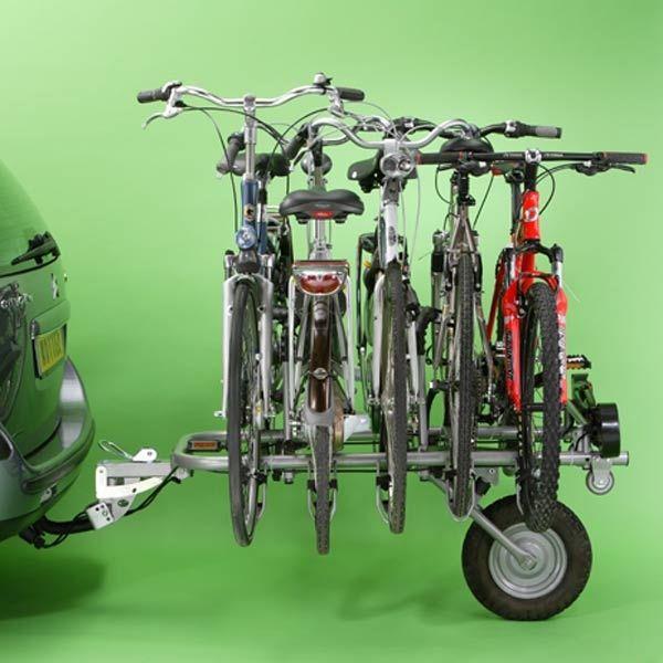Bike Racks for Cars Mottez | Towbar bike rack, Rear bike racks …