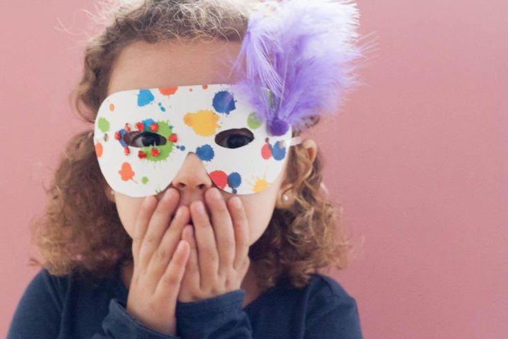 Cómo hacer máscaras de Carnaval para niños