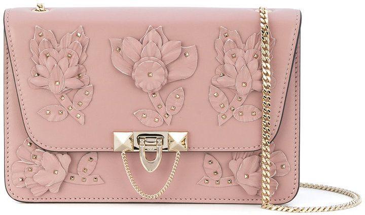 Valentino floral shoulder bag