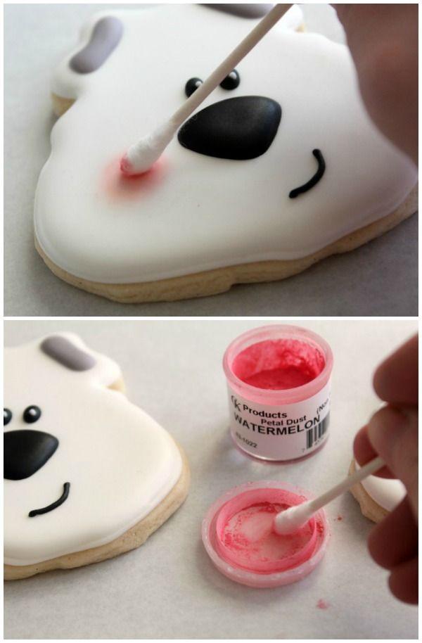Polar Bear Cookies tutorial by The Sweet Adventures of Sugarbelle