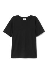 <p>The Wanna Tee made of soft cotton jersey is an adaptable basic piece cut in a comfortable straight fit. It has a simple round neck and short sleeves</p><p>- Size Small measures 94 cm in chest circumference and 61 cm in length. The sleeve length is 16 cm.</p>