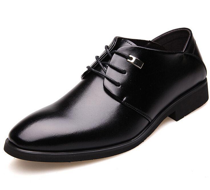 Размер 38-44 Новый Бренд Мужская Кожаная Платье Зашнуровать Мужчины Suede Shoes для Мужчин Мода квартиры Мужская Кожаная свадебная Обувь