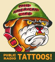 Public Radio Tattoos, Now In Our Store | This American Life