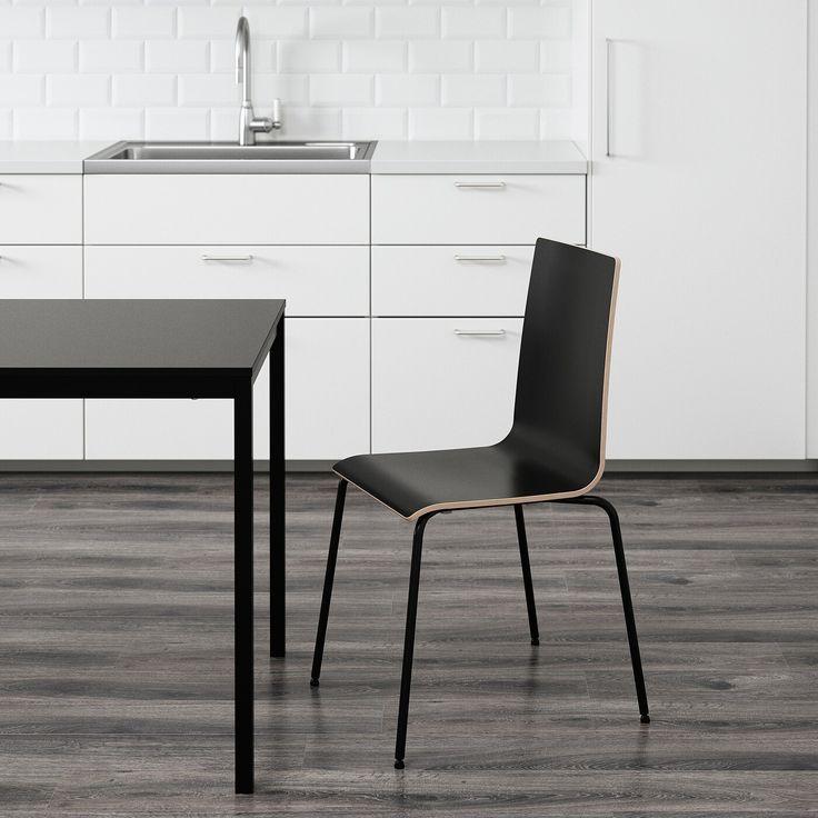 IKEA MARTIN Stuhl   schwarz, schwarz in 2020 ...
