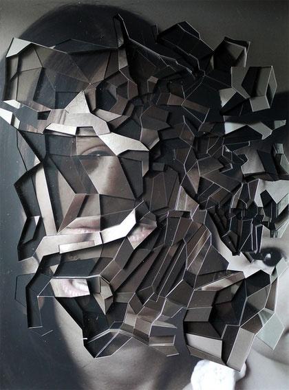 Lucas Simoes.: Graphic, Inspiration, Collage, Artist, Cut Out, Photo, Lucas Simoes