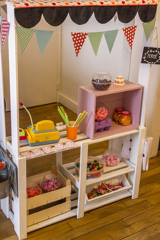 DIY - candy bar anniversaire enfant