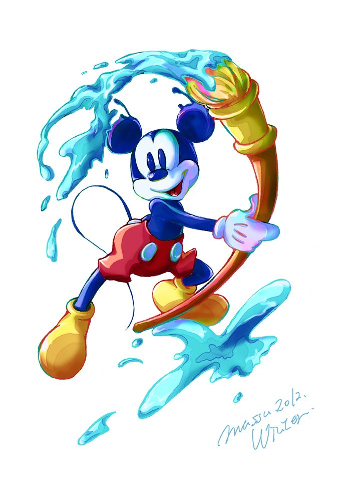 Epic Mickey. by massu55