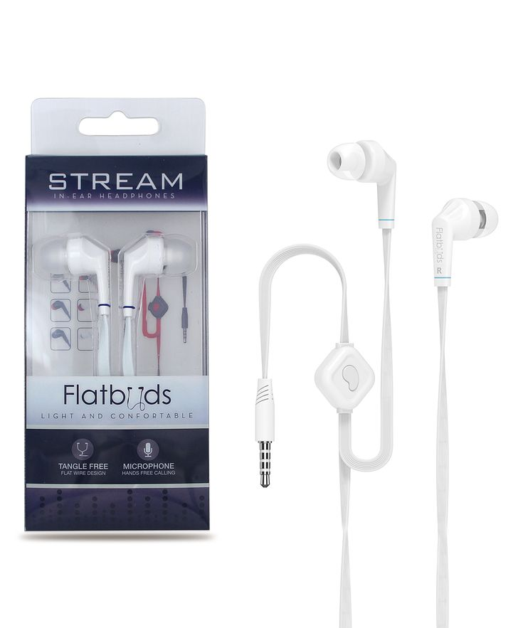 White iPanda Noise-Isolating Earbuds