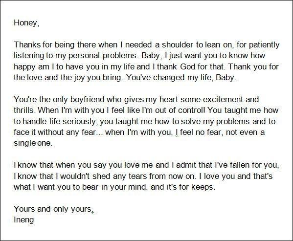 An Open Letter To My Boyfriend Letters Free Sle Letters Letters To Boyfriend Love Letter For Boyfriend Love Letters To Your Boyfriend
