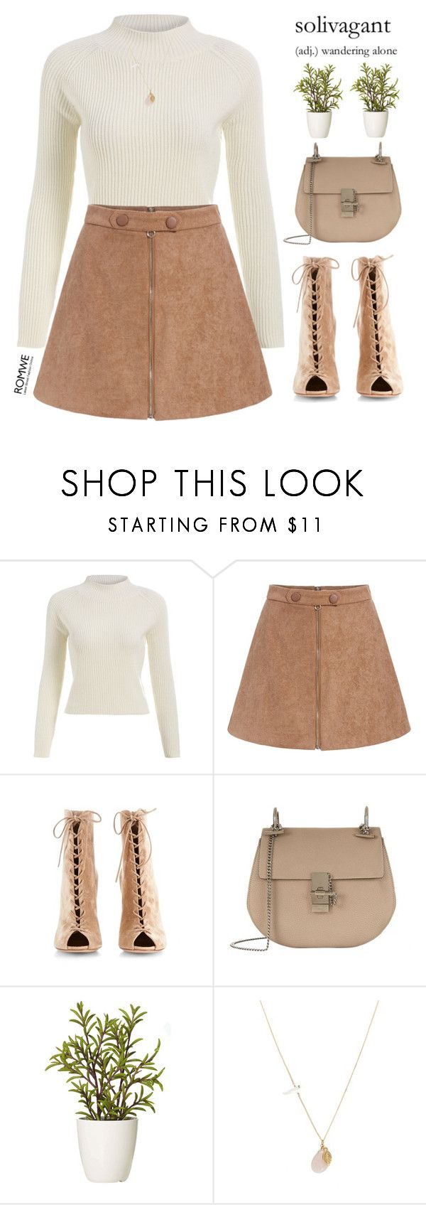 """""""solivagant"""" by mihreta-m on Polyvore featuring Gianvito Rossi, Chloé, GANT and ASOS"""