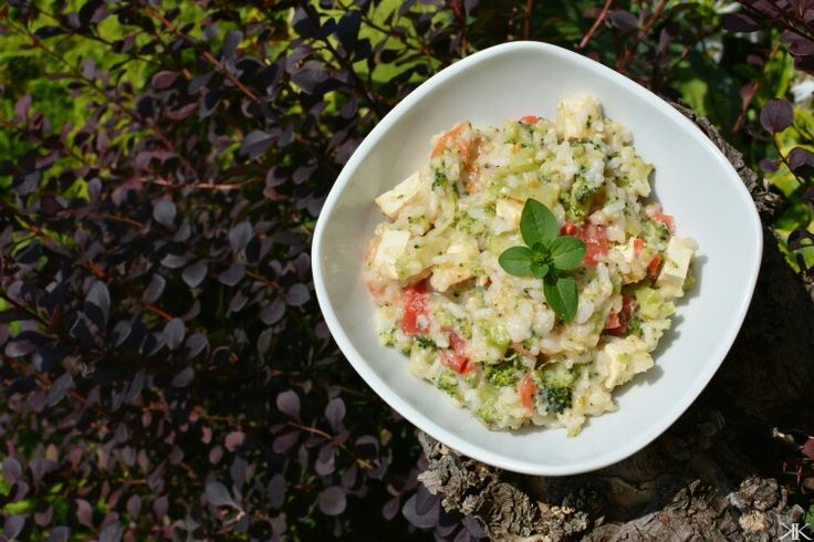 #rice#tomatoes#broccoli#parmesan#tofu#nejakejplevelzezahrady
