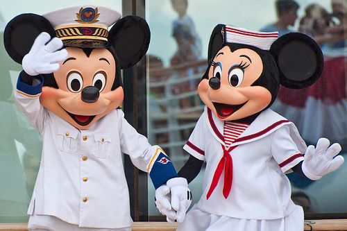 Mickey and Minnie Mouse sailors: Mickey Minnie, Disney Wonder, Mickey Mouse, Adult Costumes, Minnie Mouse, Caribbean Crui, Disney Cruises Line, Disney Crui Line, Disney Character