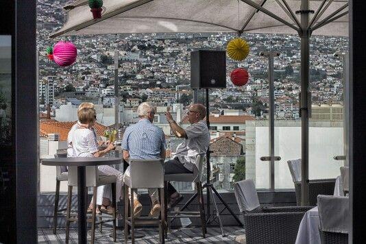 Hotel the vine - terrace - wonderful