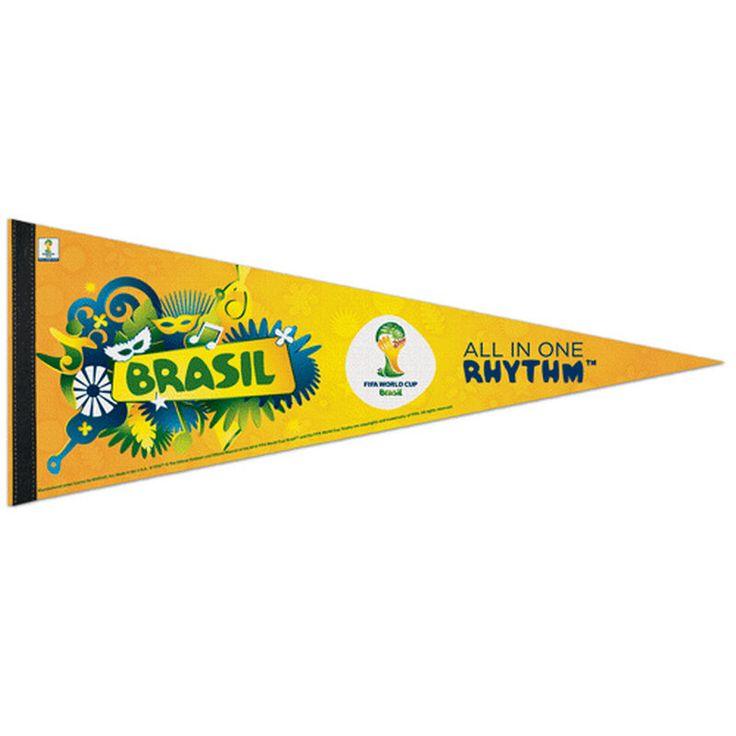 """FIFA 2014 World Cup 12"""" x 30"""" All In One Rhythm Pennant"""