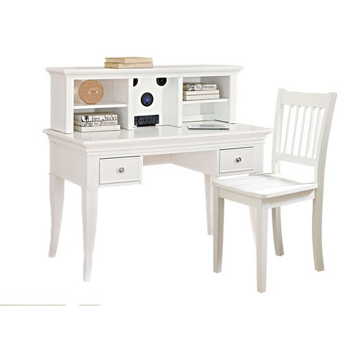 Best 25+ White Desk With Hutch Ideas On Pinterest