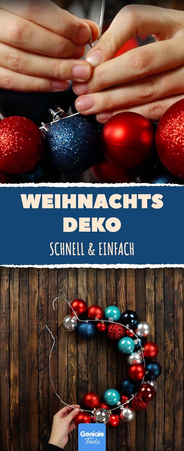 Wir lieben Deko für Advent und Weihnachten! Hier zeigen wir eine Anleitung, wie…