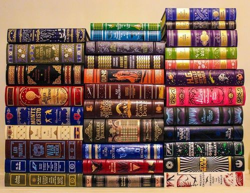 Barnes and Noble Classics Leatherbound - I haven't read all of these, but I love these books.:
