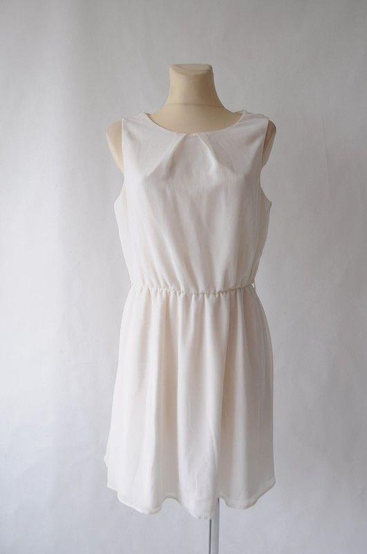 c4ffa81d3a New Look sukienka kremowa r. 42 - vinted.pl