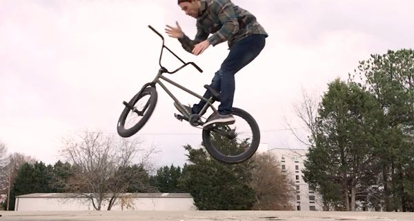 What is the easiest way to learn how to 180? : bmx