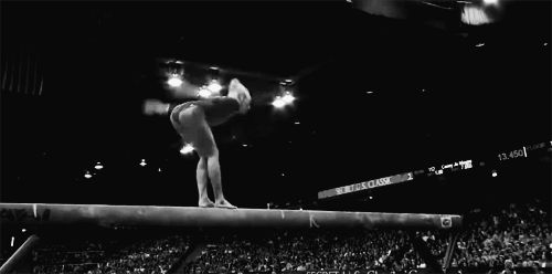 Nastia's Onodi (gif). I don't like pinning gif's, but Nastia doing this skill is one of my absolute favorite things. Ever