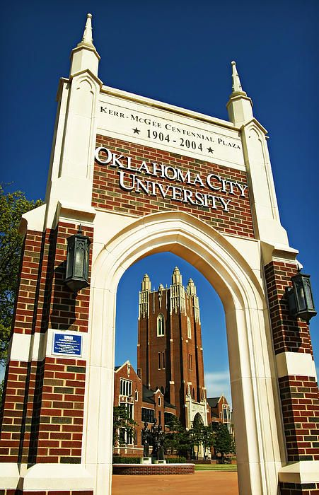 Oklahoma City University my alma mater!!!