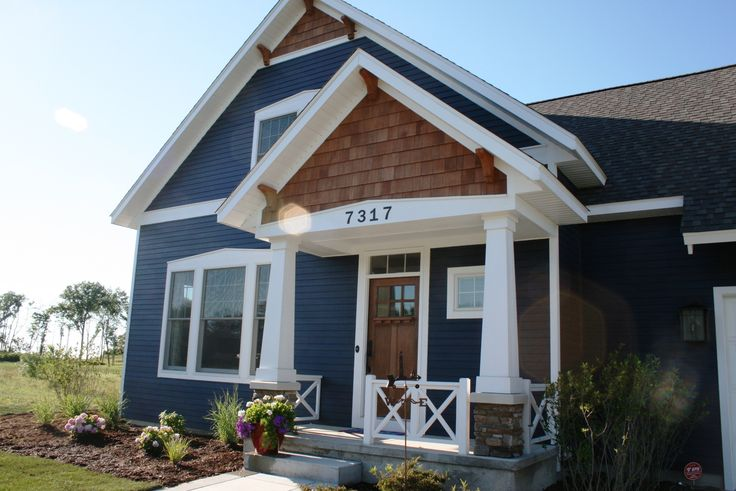Accentuate Corners And Windows With Hardie Board Trim Plus Hardie Board Siding For Home Exterior Design Ideas: Cool Hardie Board Siding In Blue Matched With White Trim Board Window And Door For Home Exterior Design Ideas