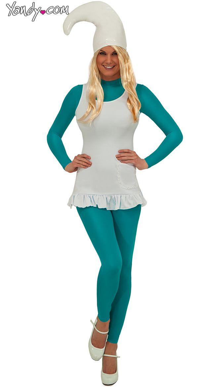 Sexy Blue Babe Costume