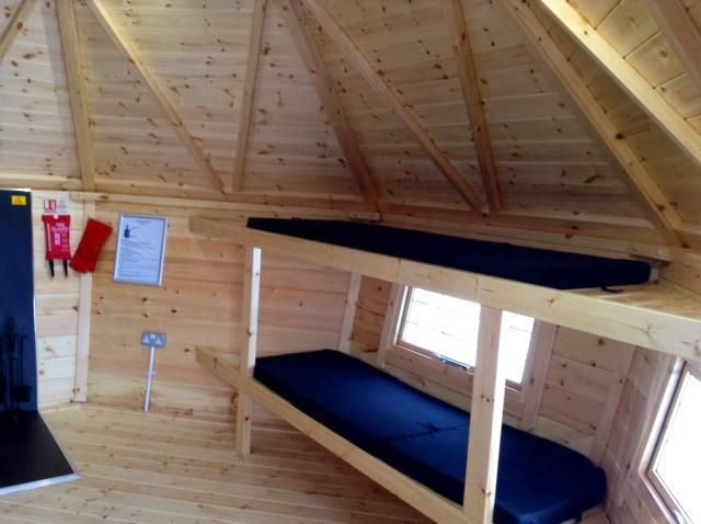 http://www.peakdistrictspa.co.uk/index.php?webpage=accommodation  Bunk beds in our timber yurts...  Buxton Road, Alsop-en-le-Dale, Ashbourne, Derbyshire, DE6 1QU, Tel: 01335 310 100