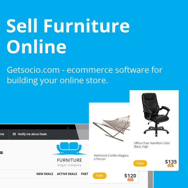 Office furniture always has been in high demand. Whether it be for commercial use or home use, people will need it anyway. Businessmen prefer comfort and appreciate their time, that's why they search furniture that will create a perfect working environment online. Use advantages that internet gives.  Getsocio makes it easy for you to launch and operate office furniture ecommerce site without any prior coding experience.