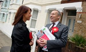 Gloria de Piero and Hammersmith MP Andy Slaughter
